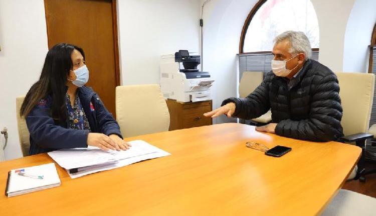 Gobernador Regional y directora regional de Onemi coordinan acciones para actuar ante situaciones de emergencia