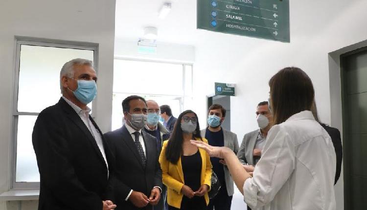 """Gobernador Pablo Silva Amaya: """"Mejorar la salud pública es uno de  nuestros compromisos de gestión"""""""